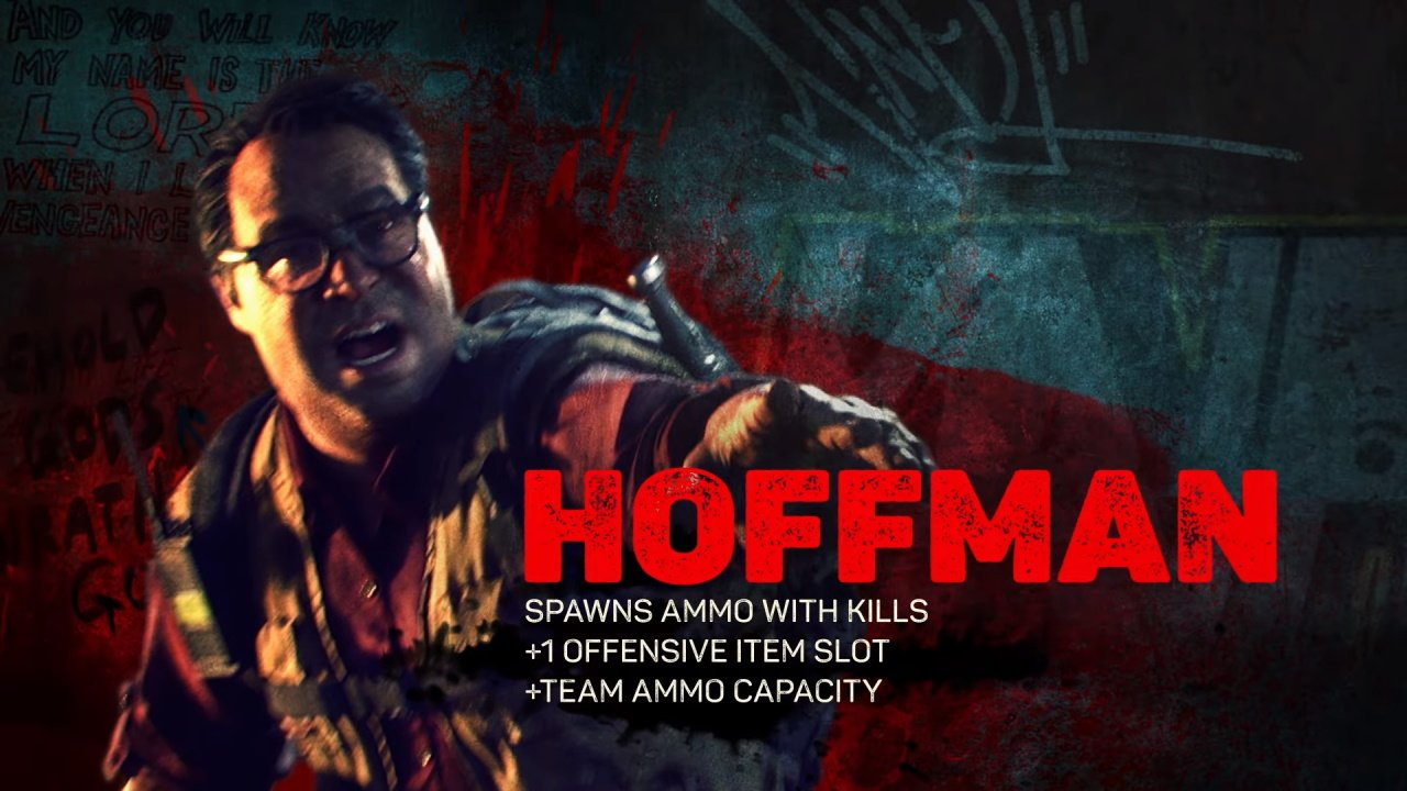 Back 4 Blood characters abilities hoffman