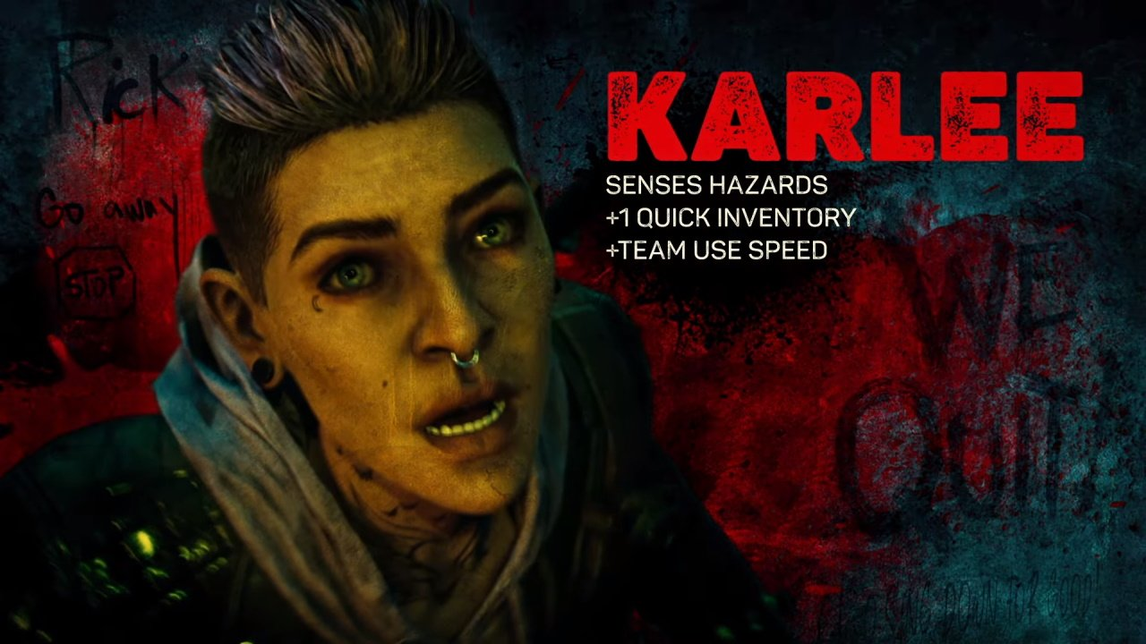 Back 4 Blood characters Karlee