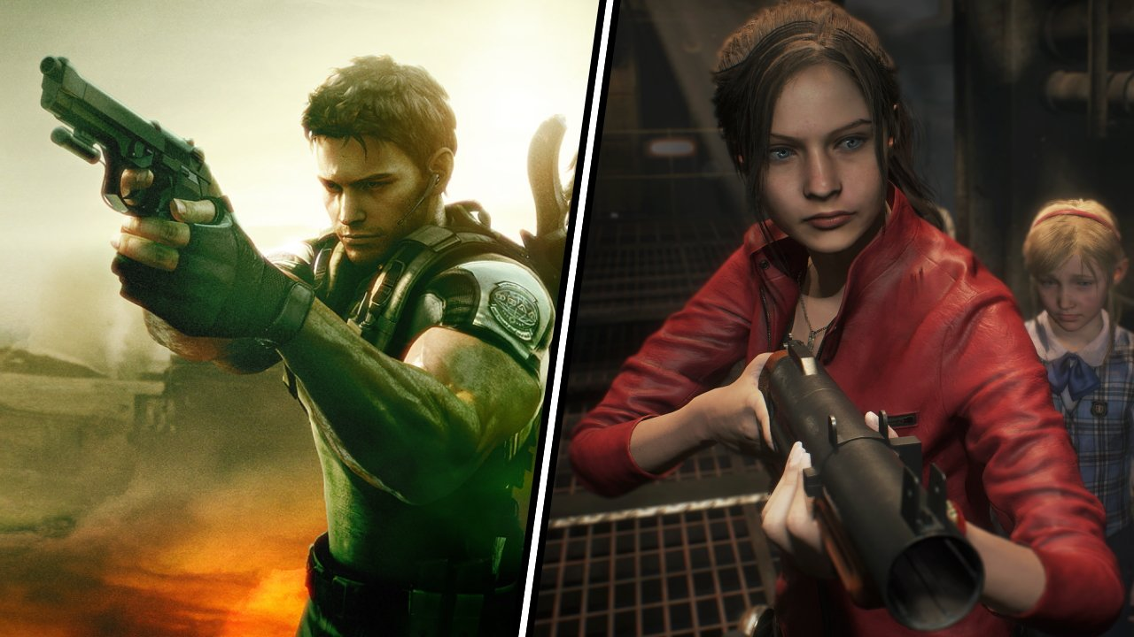 Best video game siblings chris claire redfield