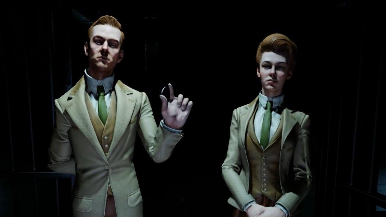 Best video game siblings lutece twins bioshock infinite
