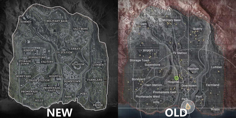 Call of Duty Warzone season 3 map changes - 84 Verdansk