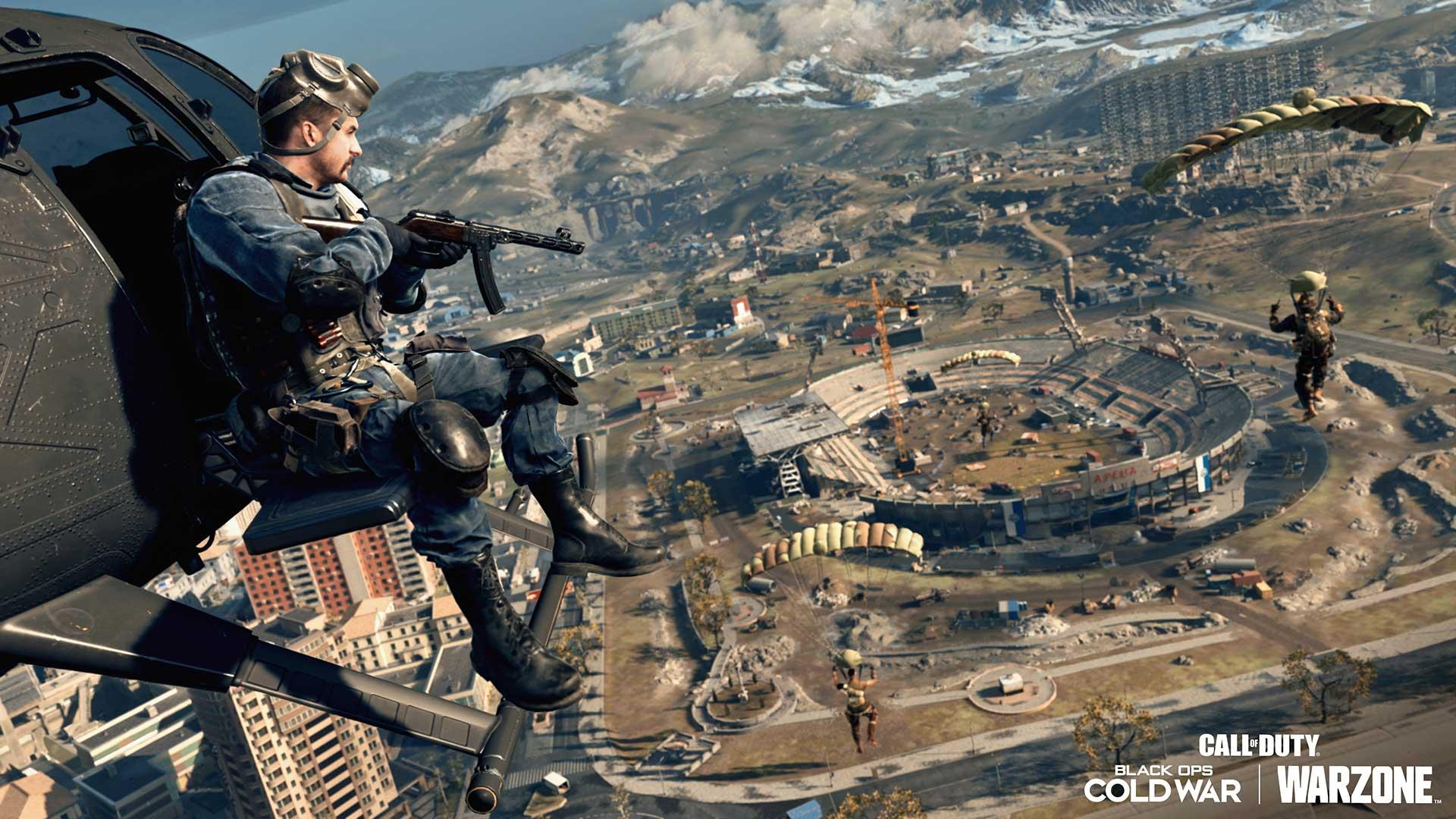 Call of Duty Warzone season 3 map changes stadium