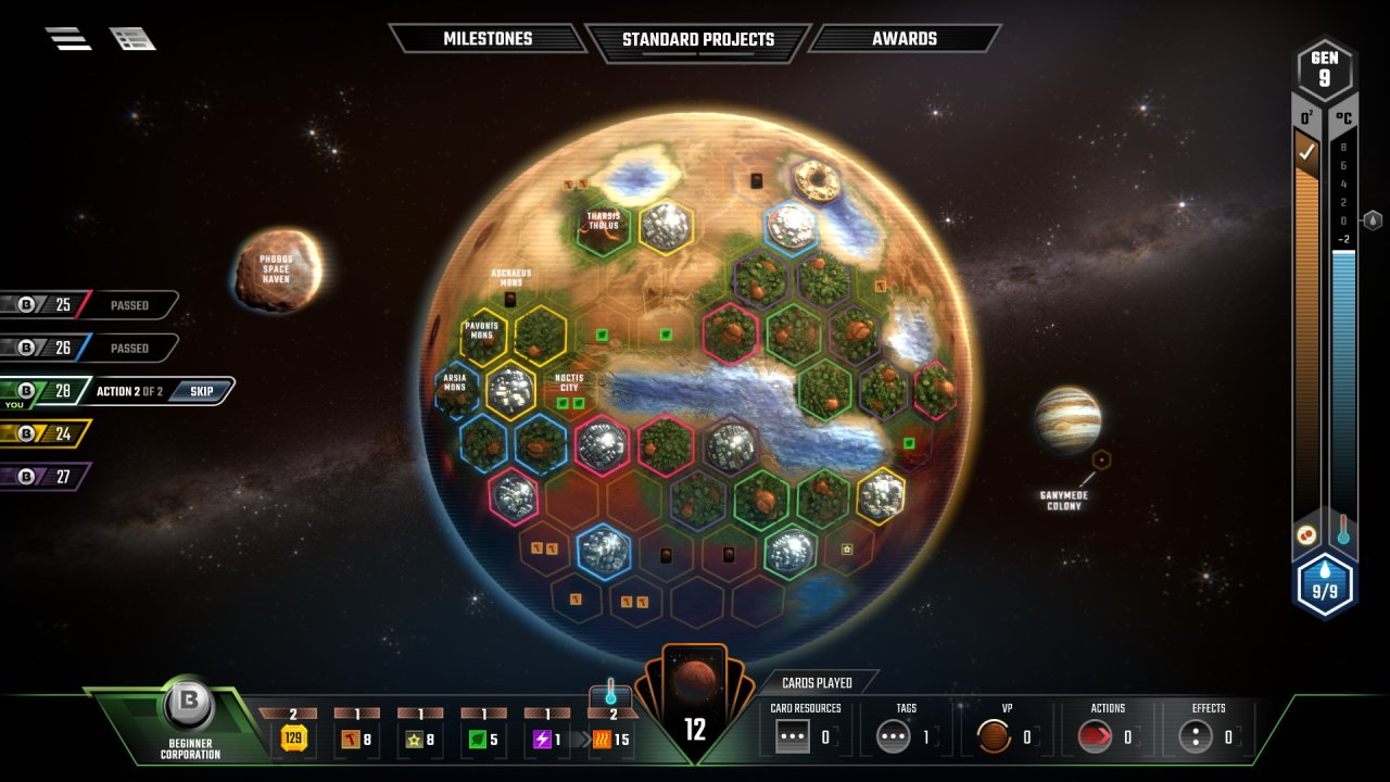 the best digital board games that dont suck terraforming mars