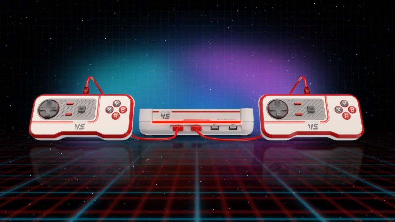 Evercade VS retro console coop play