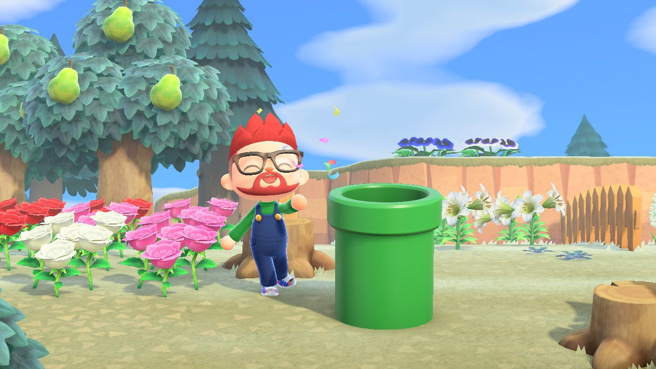 How long are the Mario Items available animal crossing new horizons