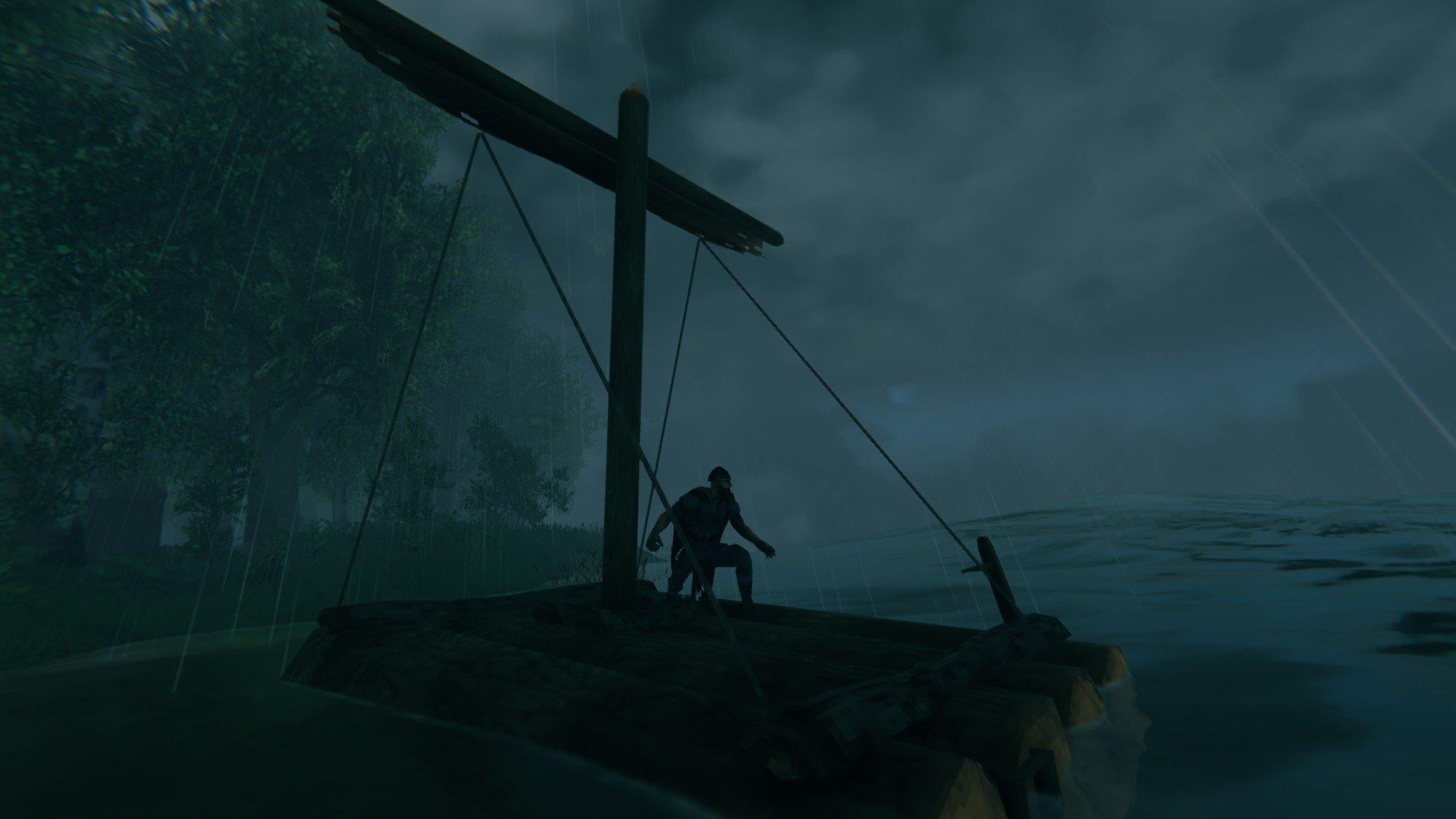 How to craft a raft in Valheim