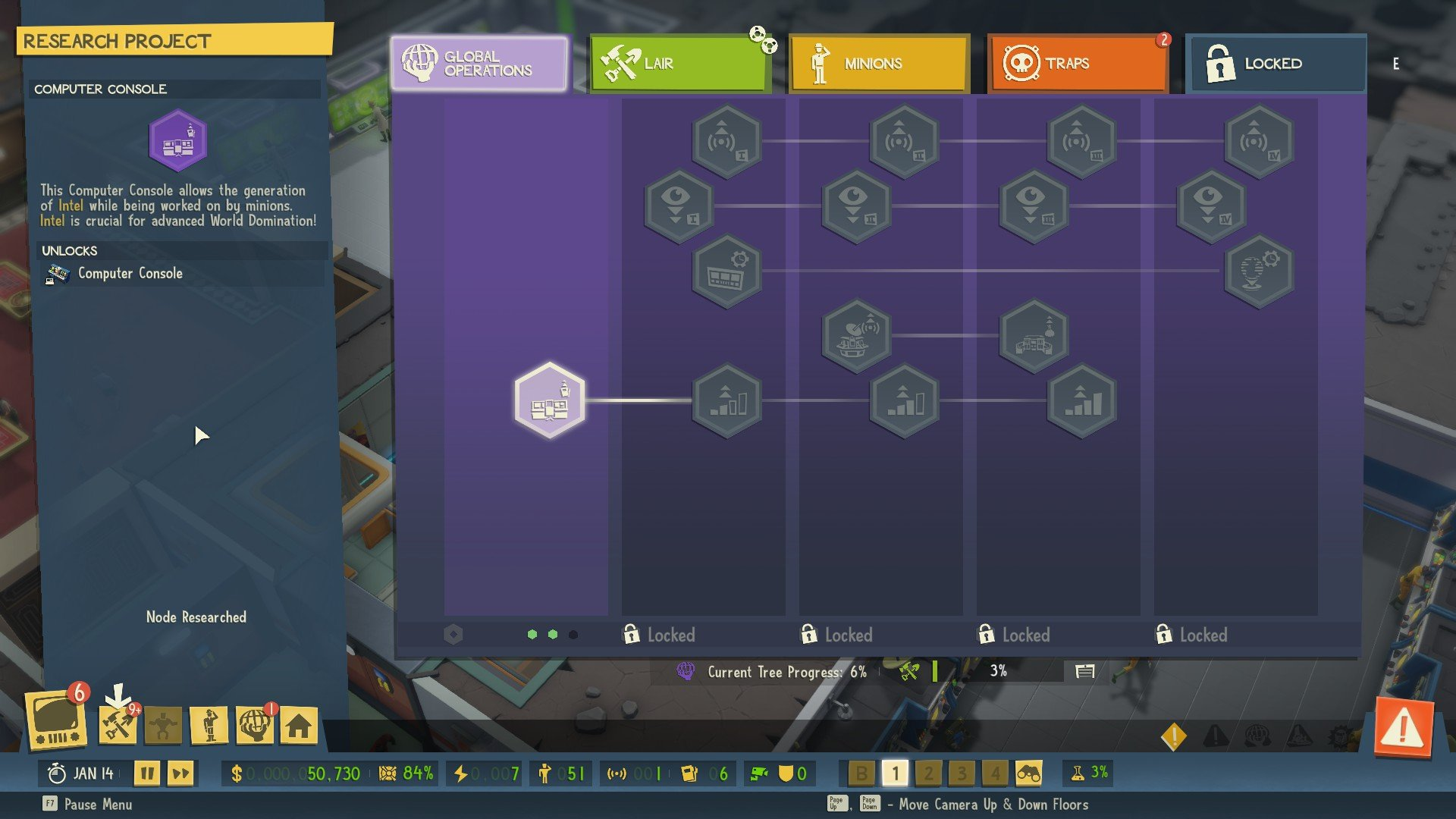 How to get intel in Evil Genius 2