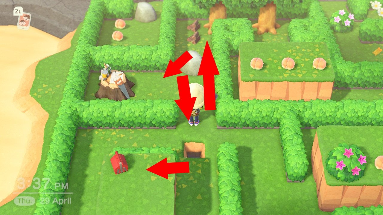 Animal Crossing new horizons may day maze solution 2021