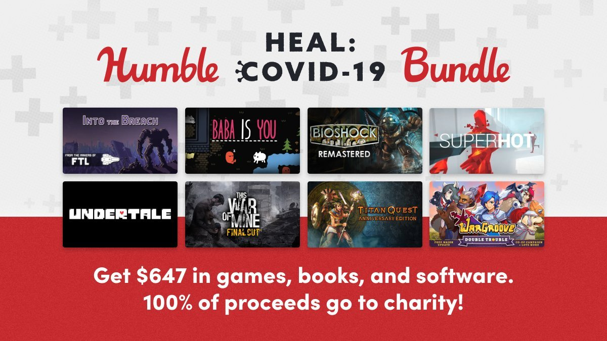 Humble heal covid 19 bundle charity games