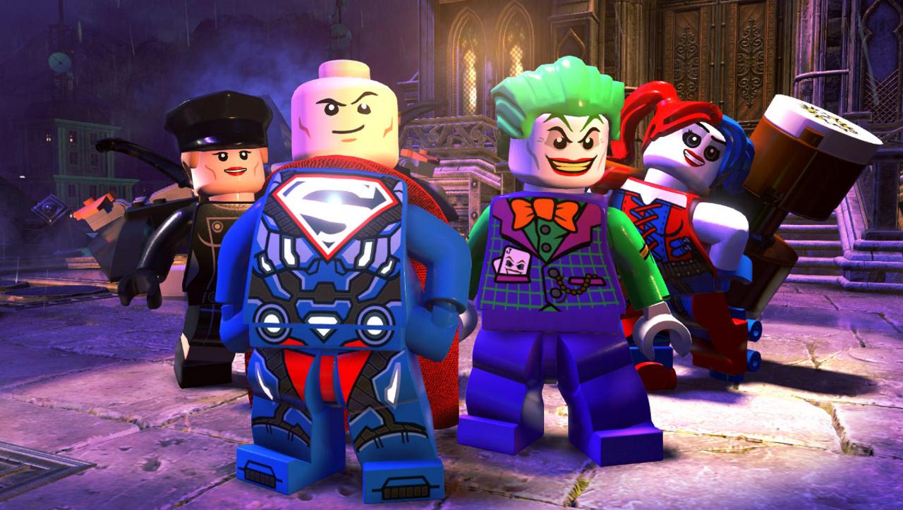 justice league games lego dc supervillains