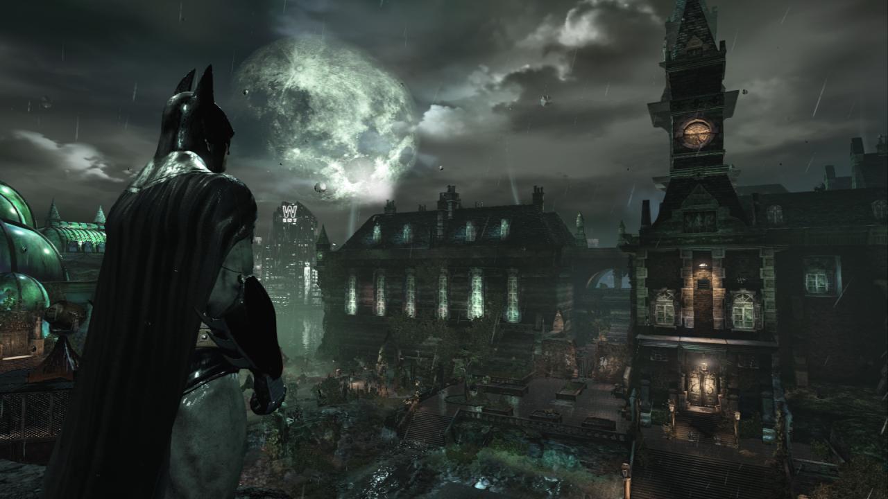 Justice league games arkham asylum