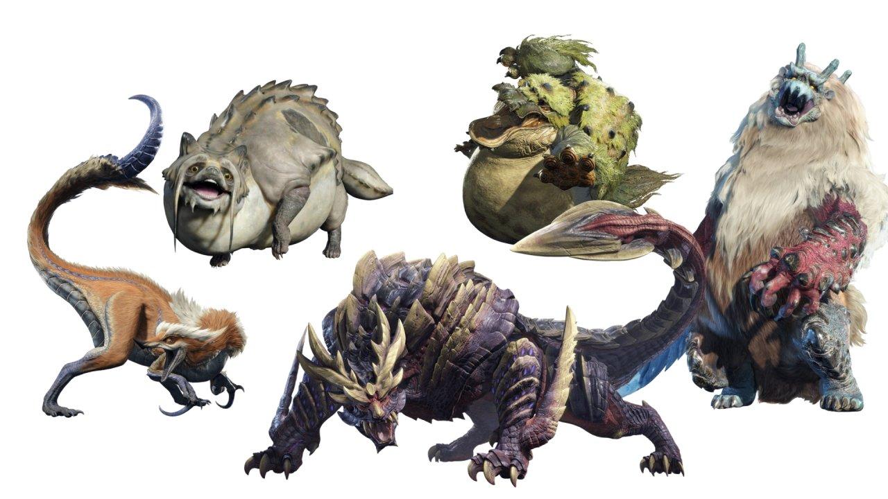 Monster Hunter Rise new monsters