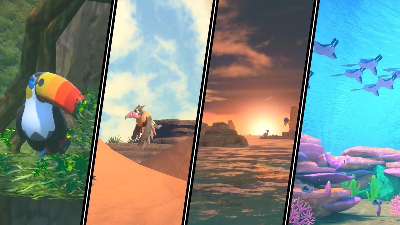 New Pokemon Snap region lental islands