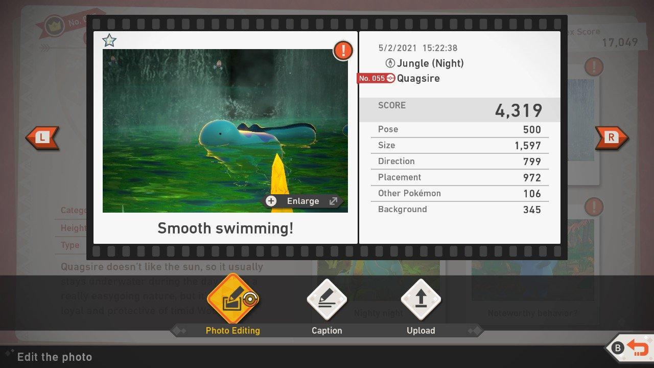 New Pokemon Snap Scoring System explained guide rating