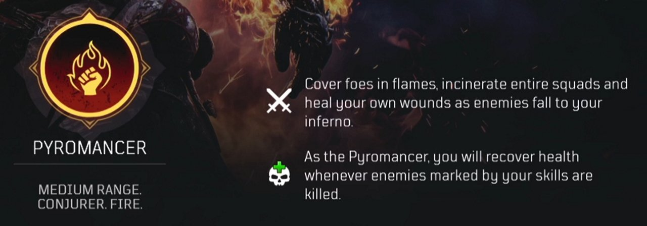 Outriders which class to pick pyromancer