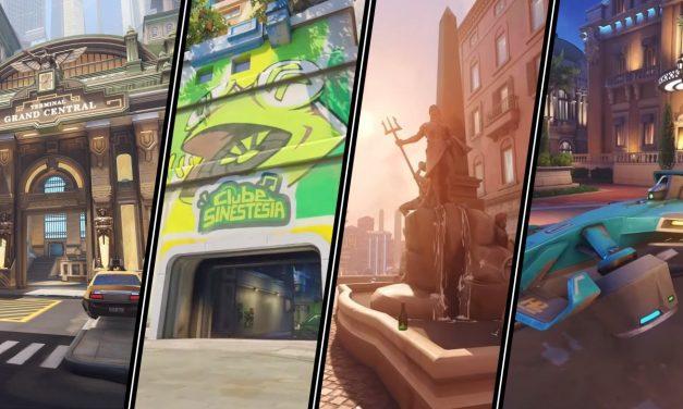Nouvelles cartes dans Overwatch 2