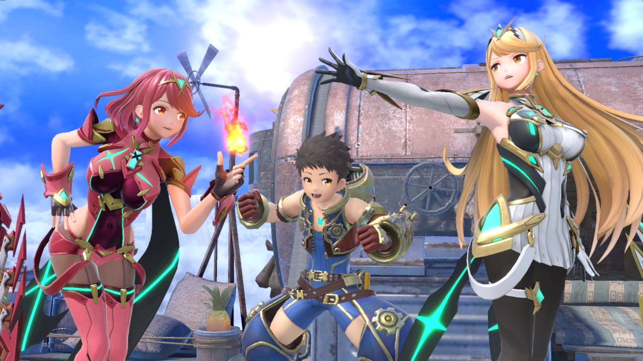 Pyra Mythra differences smash ultimate moveset