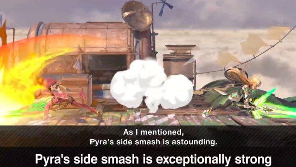 pyra mythra moveset smash ultimate
