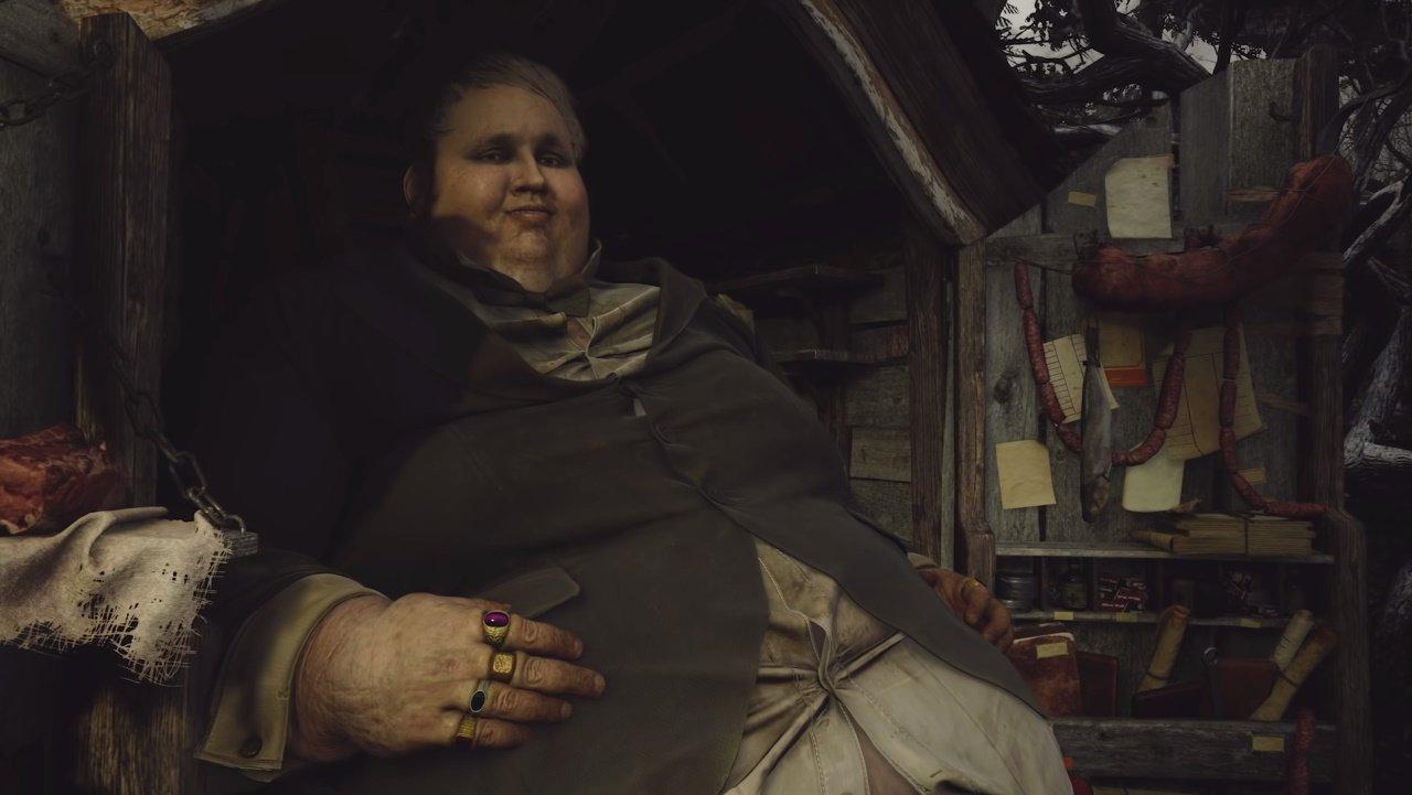 Resident Evil Village easter egg Duke merchant