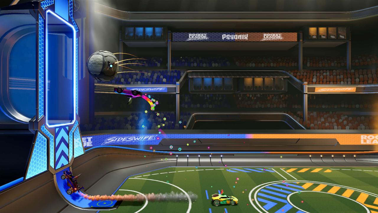 Rocket league sideswipe mobile game