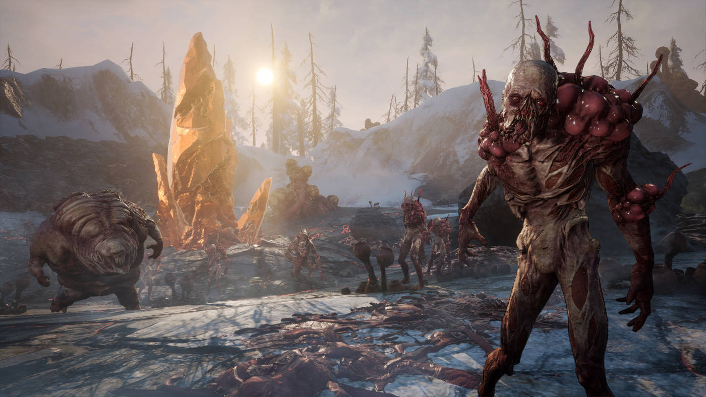 What is scavengers online shooter battle royale