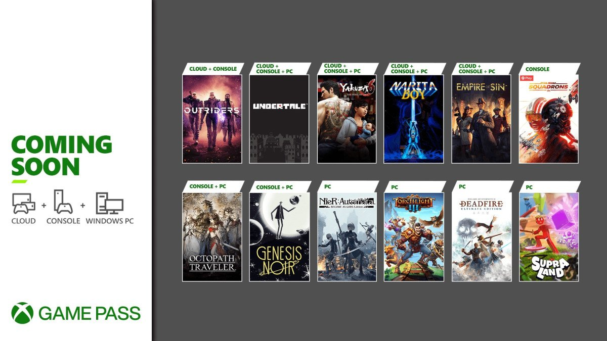 Xbox game pass march games additions