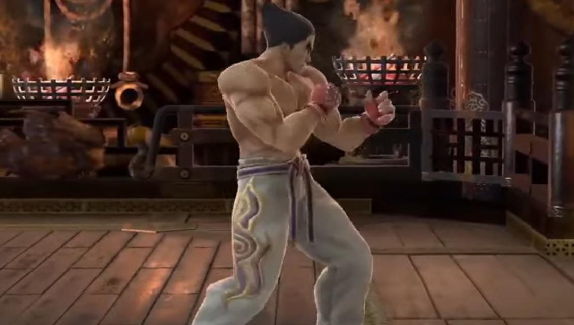 Les mouvements de Kazuya Mishima dans Super Smash Bros. Ultimate