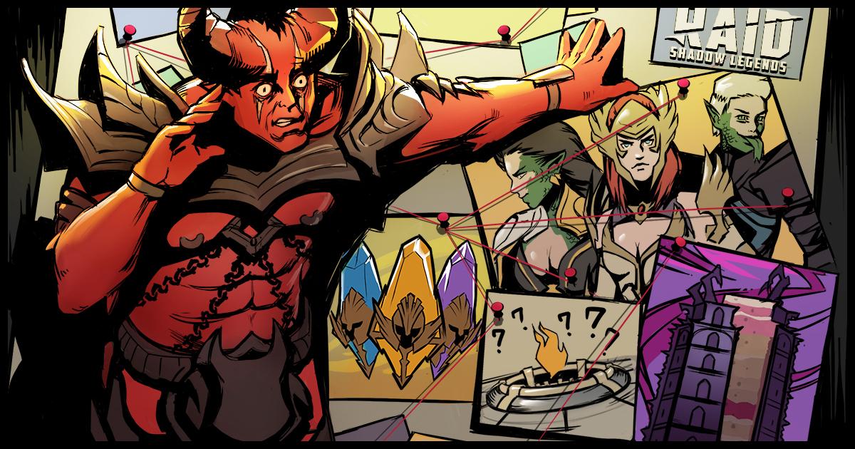 Raid Shadow Legends : Raid-Digest du 25/06/2021