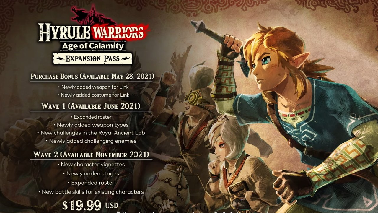 Nintendo Direct biggest announcements age of calamity expansion pass