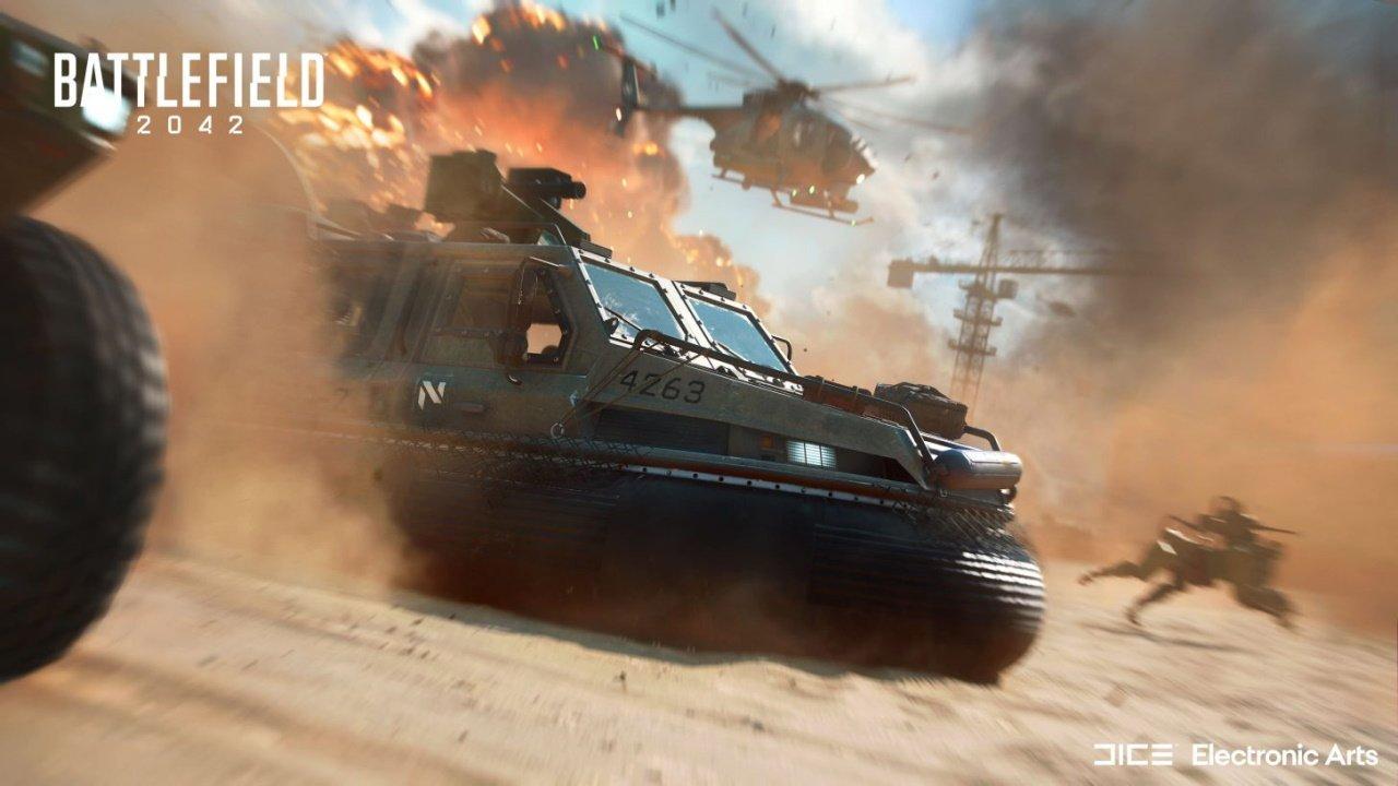 Battlefield 2042 vehicles hovercraft