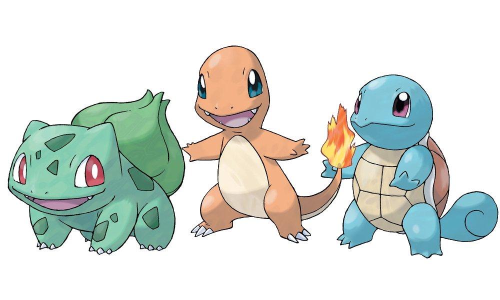 Best pokemon starters ranked gen 1
