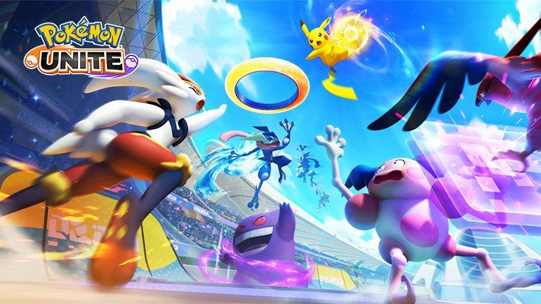 Pokemon Unite sera lancé sur Nintendo Switch le 21 juillet.