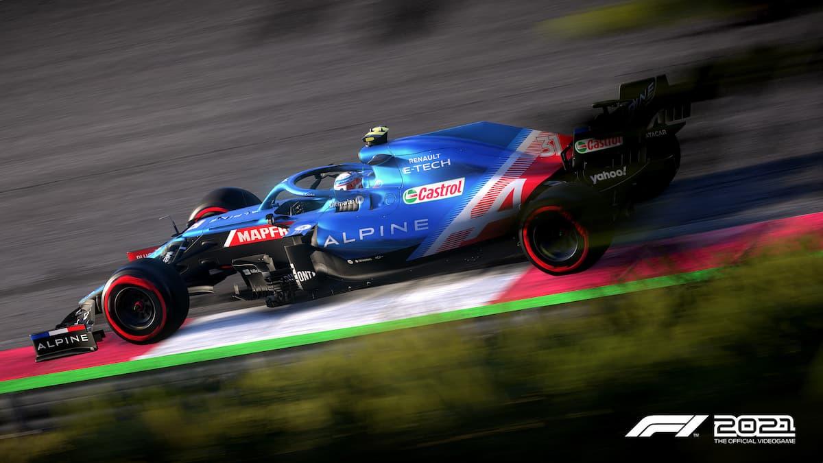 Comment changer l'angle de la caméra dans F1 2021