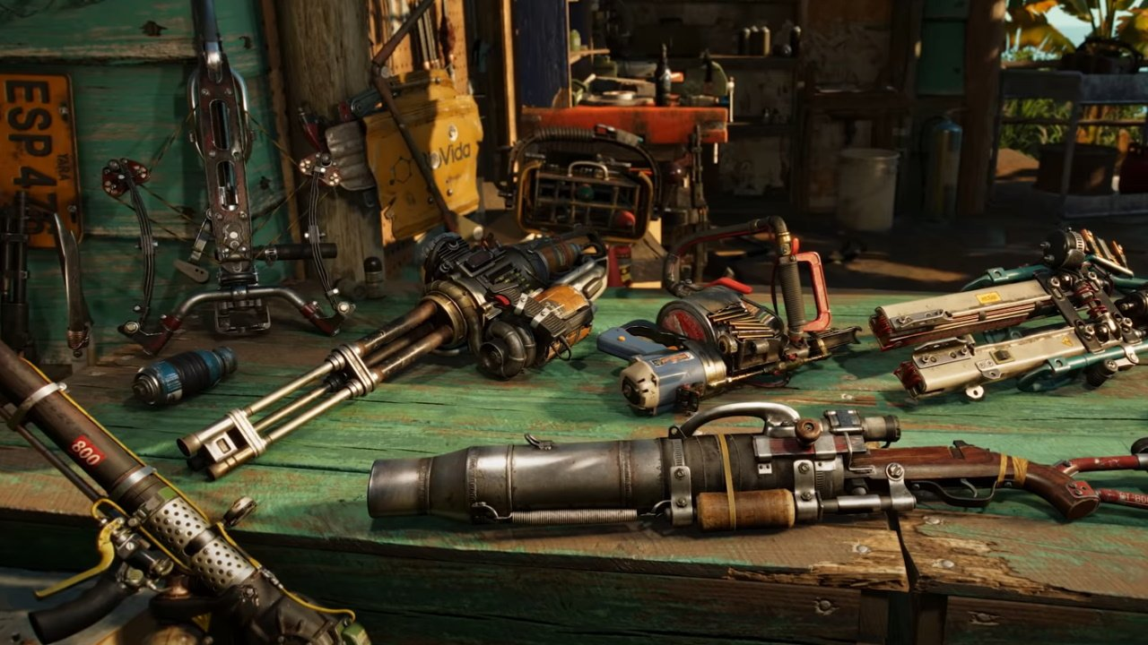 What's new in Far Cry 6 weapons