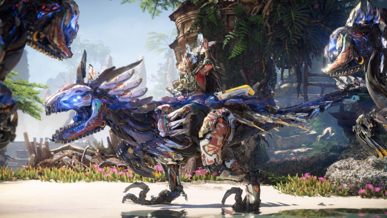 Horizon Forbidden west new machines Clawstrider