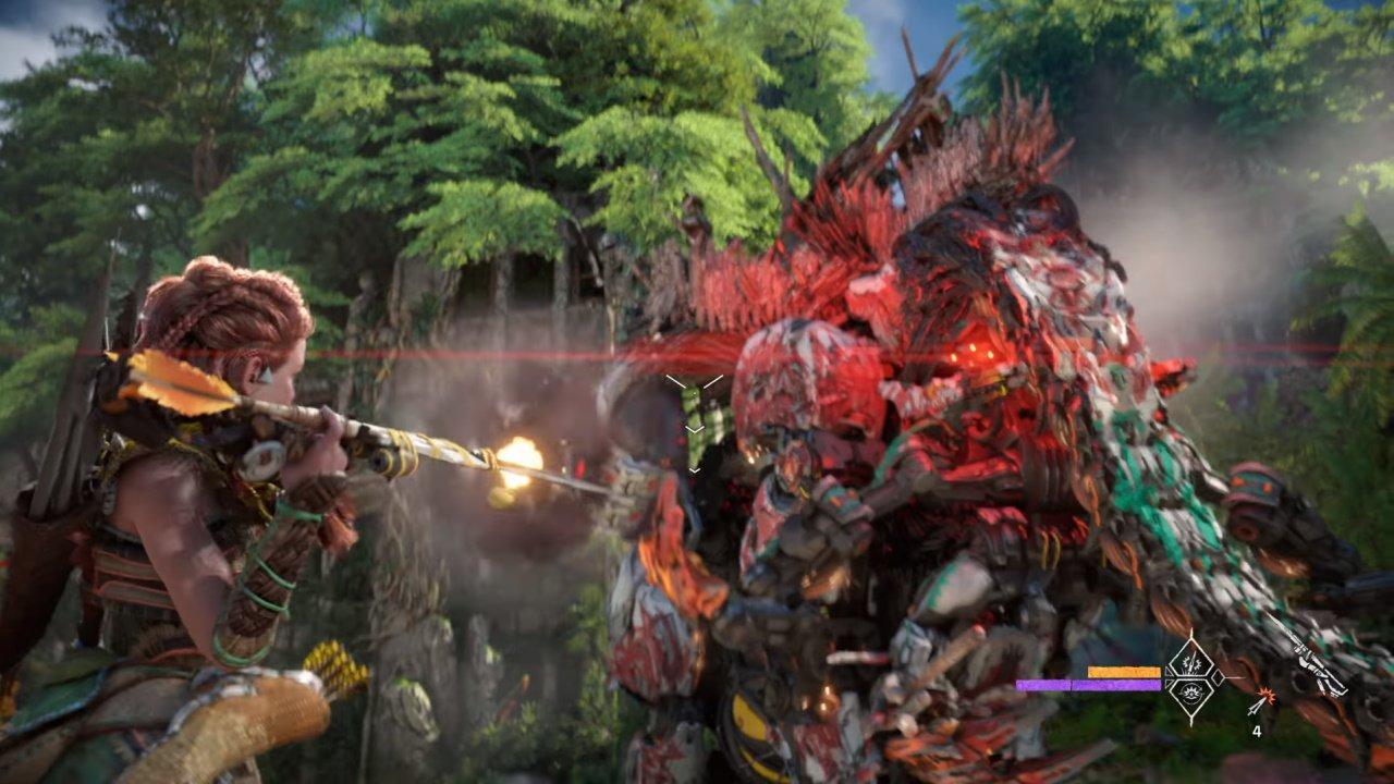 Horizon Forbidden West new weapons spike thrower