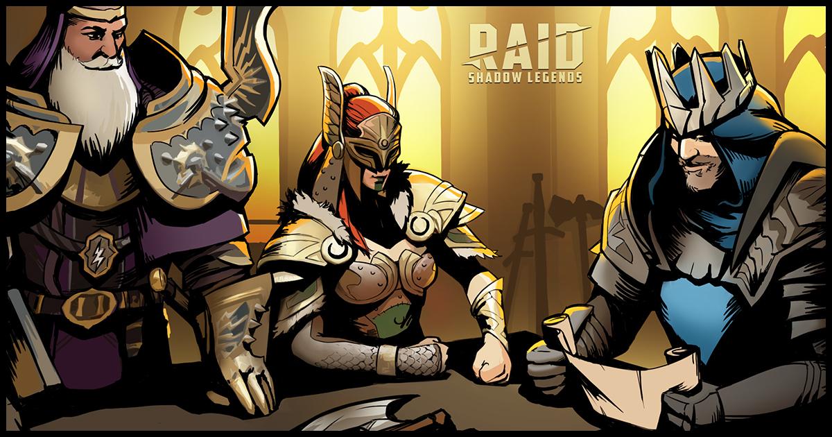 Raid Shadow Legends : Raid-Digest du 09/07/2021