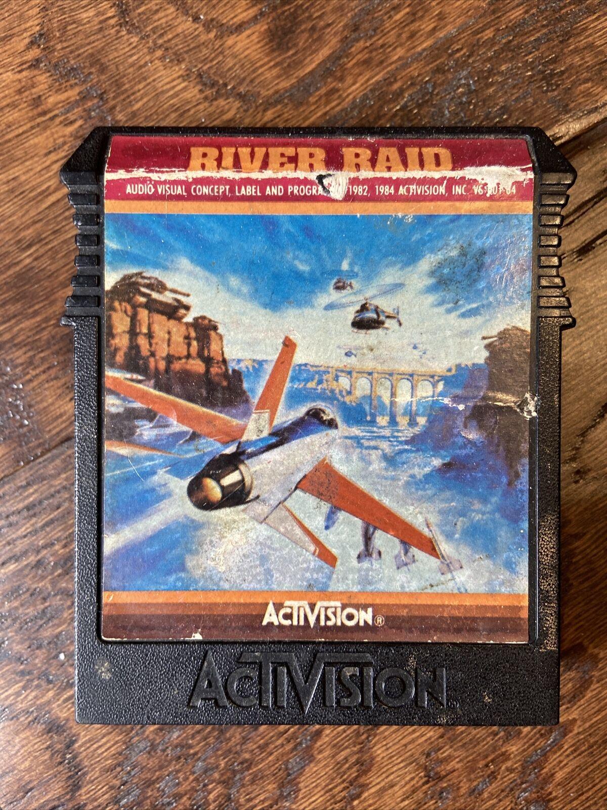 A River Raid cartridge for the Atari 800, circa 1983, Neolithic age © zabhi-32 via eBay