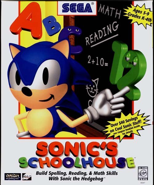 Sonic the hedgehog spin offs sonics schoolhouse