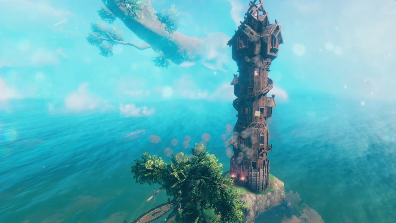 Valheim best creations buildings wizard tower