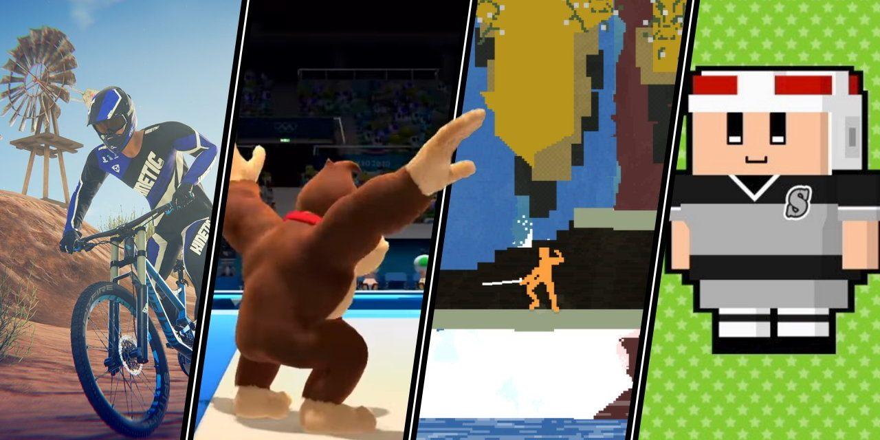 Participez à vos propres olympiades de jeux vidéo avec ces titres sportifs.