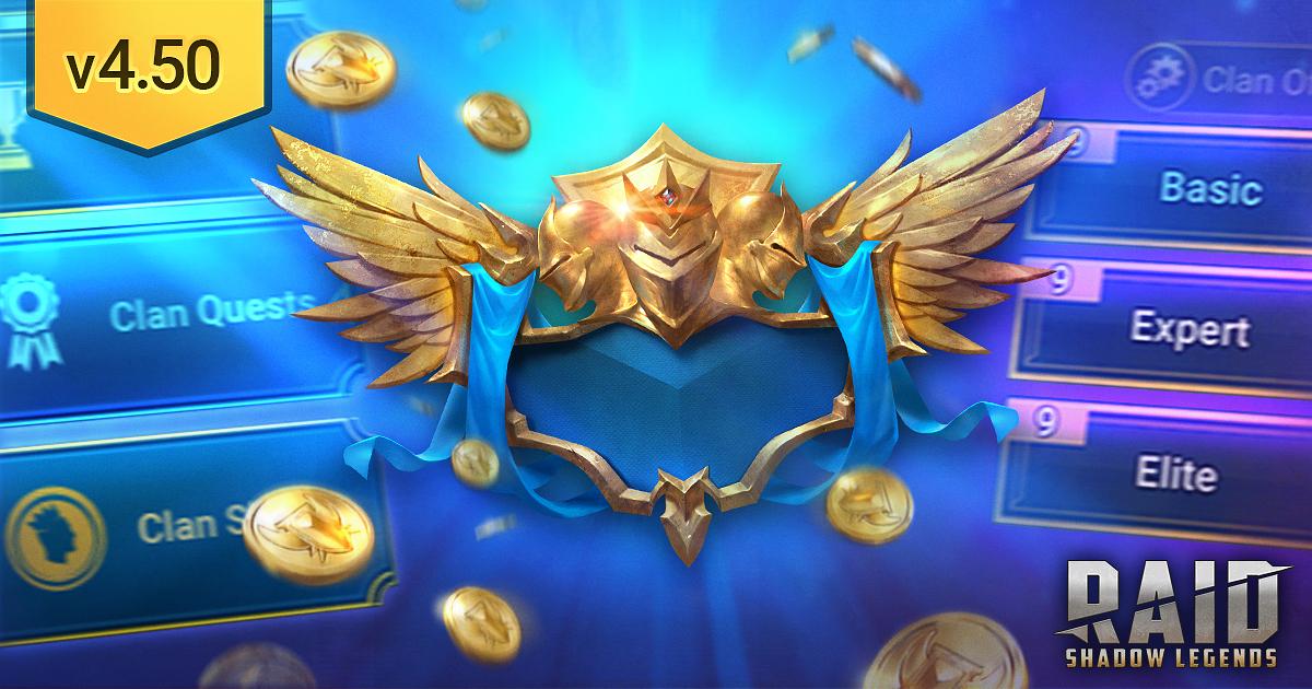 Raid Shadow Legends : Update 4.50