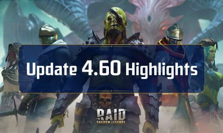 Raid Shadow Legends : Mise à jour 4.60 – Points forts