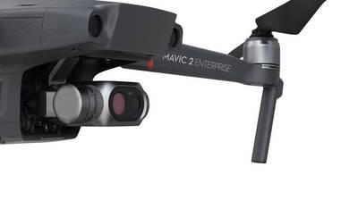 Drone avec caméra thermique