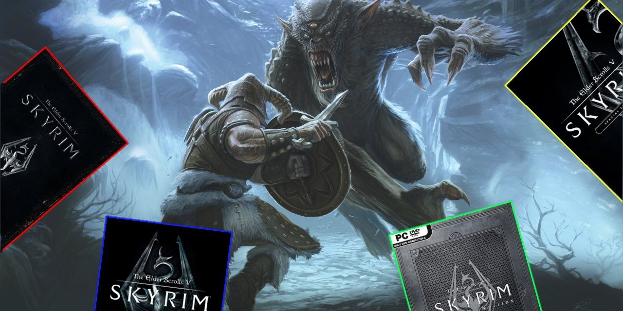 Chaque édition de Skyrim publiée au cours de la dernière décennie