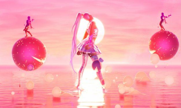 Fortnite Ariana Grande Rift Tour : Des bulles, des arcs-en-ciel et un énorme marteau