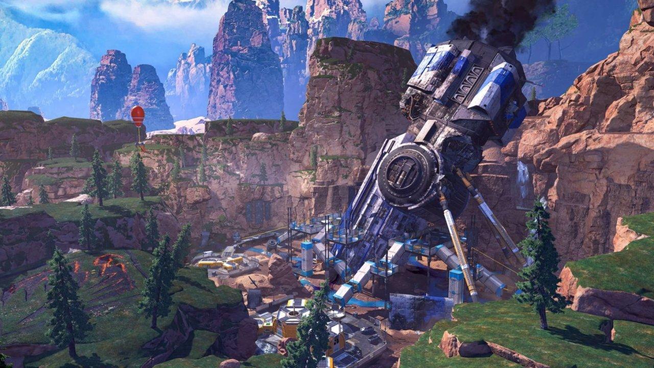 Apex legends season 8 map changes kings canyon crash site