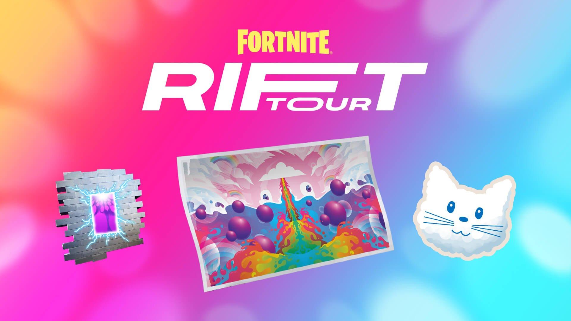 Fortnite Ariana Grande rift tour rewards