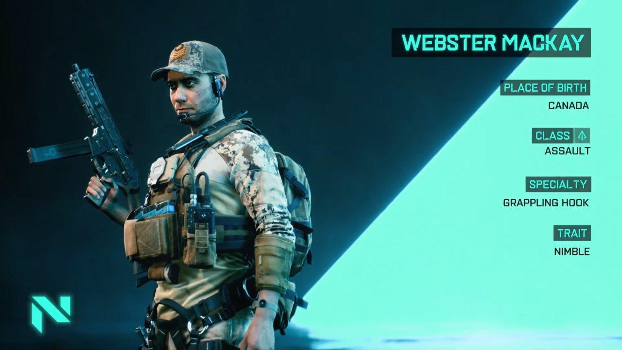 Battlefield 2042 specialists assault mackay