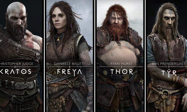 Le casting principal et les personnages de God of War Ragnarok ont été révélés.